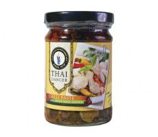 THAI DANCER Chilipaste mit Basilikumblättern - 200 g