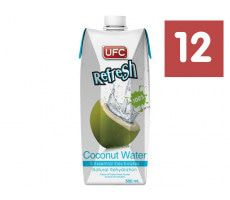 UFC Refresh - Kokoswasser - 12 x 500 ml