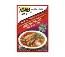 Lobo 2-in-1 Rote Currypaste & Kokoscreme - 100 g