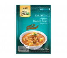Asian Home Gourmet Würzpaste für Nonya-Curry-Huhn nach Singapur Art - 50 g