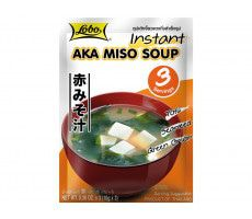 Lobo Instant Aka Miso-Suppe - 30 g