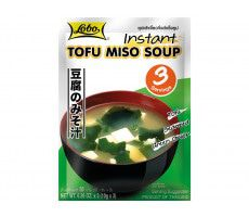 Lobo Instant Tofu-Miso-Suppe - 30 g