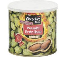 EXOTIC FOOD Wasabi-Erdnüsse - 140 g