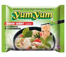 Yum Yum Instant-Nudeln grünes Curry - 70 g