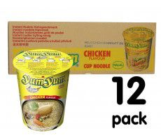Yum Yum Instant Cup Noedels Kip - 12-pack