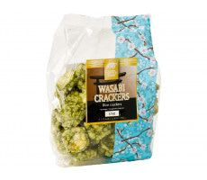 Golden Turtle Wasabi-Reiscrackers - 125 g