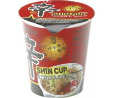 Instant Shin scharfe Cup-Nudeln 75 gram