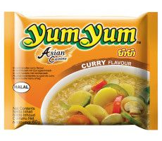 Yum Yum Instant-Nudeln Curry - 60 g